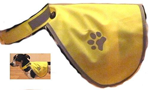 Hunde Warnweste Sicherheitsweste mit Reflektoren Gösse M