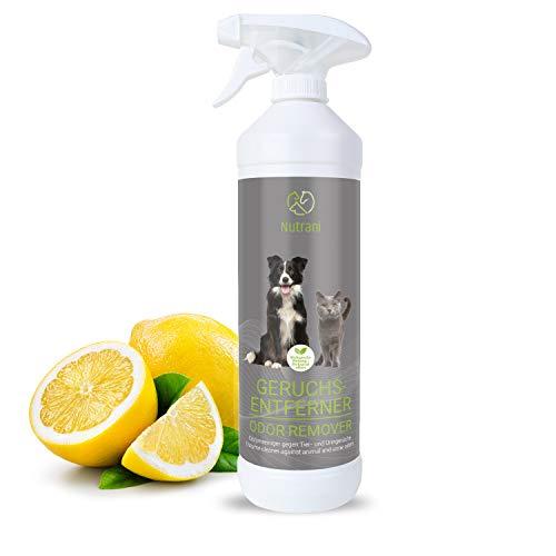 Nutrani Geruchsentferner | 750 ml - Natürlicher Enzymreiniger als gebrauchsfertiges Spray mit...