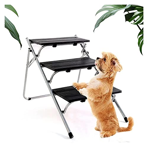 Hunderampen und Treppen Hund Treppen Faltbare Hund Rampen Leichte Teleskopauto Haustier Treppen Holz...