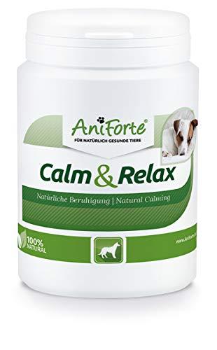 AniForte natürliche Beruhigung für Hunde Calm & Relax 100g - Natürliches Beruhigungsmittel zur...