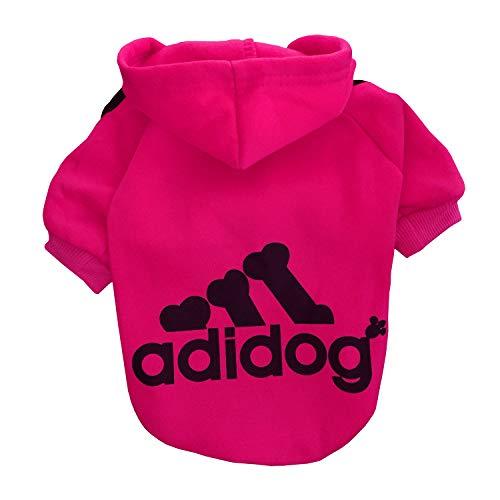 Rdc Pet Adidog Hunde Kapuzenpullis Hoodies, Hunde Bekleidung, Fleece Hunde Kleidung Sweater,...