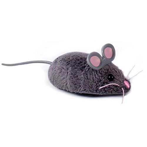 HEXBUG 503502 - Mouse Cat Toy grau, Elektronisches Spielzeug