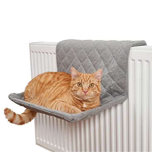 PiuPet® Katzen Heizungsliege - passend für alle gängigen Heizkörper - Katzenhängematte für die...