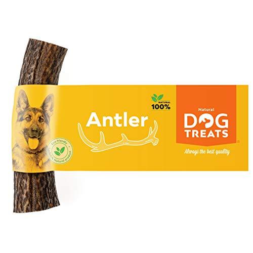 100% Natürlich Hirschgeweih für Hunde Kauspielzeug Kauknochen Hundeknochen Geweih, Größe Medium