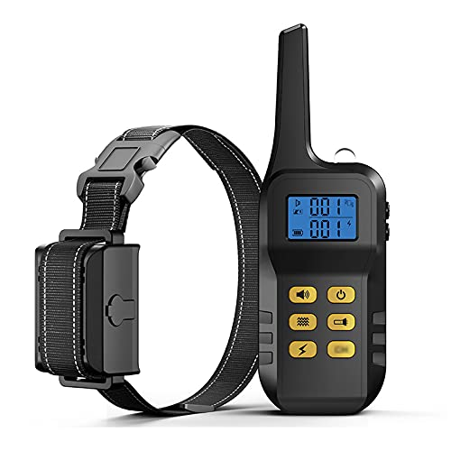 ZHIWE Hundehalsband USB Vibrationshalsband Wiederaufladbares mit Fernbedienung Wasserdichtes...