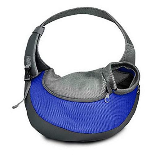 TEFIRE Welpen Tragetasche Hundetasche Umhängetasche Transporttasche Schultertasche für Hunde Katzen...
