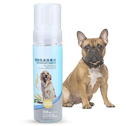 OKAT Hundeshampoo und Spülung, Haustier-Shampoo-Sprühkopf Design Balance Pet's PH-Wert Sanft für...