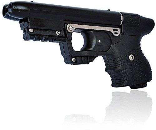 Piexon AG Pfefferspraypistole Jet Jpx mit Ziellaser mit Zulassung vom BKA Tierabwehrgerät