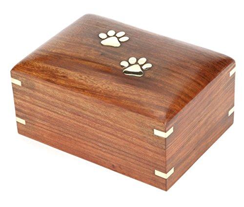 Urns UK Holz-Urne für Haustiere, Ulme