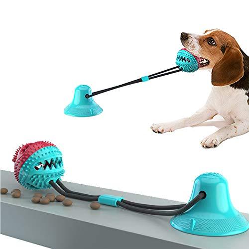 JEANGO Spielseil für Hunde, blaues TDR Sucker Hundespielzeug, geeignet für mittelgroße Hunde und...