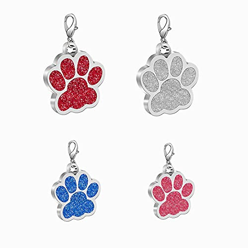 xuanbeauty Personalisierte Hundemarken, Katzenmarken, Benutzerdefinierte Haustier ID Tags, 3 Größe, 4...