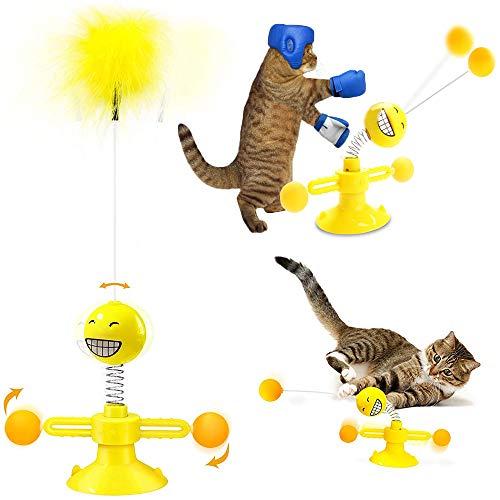 WeChip Spielzeug für Haustiere, Katzenspielzeug, interaktives Spielzeug für Katzen, Spielzeug für...