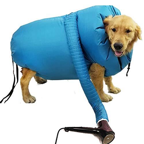 Haustier Trockenbeutel,Pet Drying Coat,Haustier-Trockner,Pet Dryer Hundefön,Puff and Fluff...