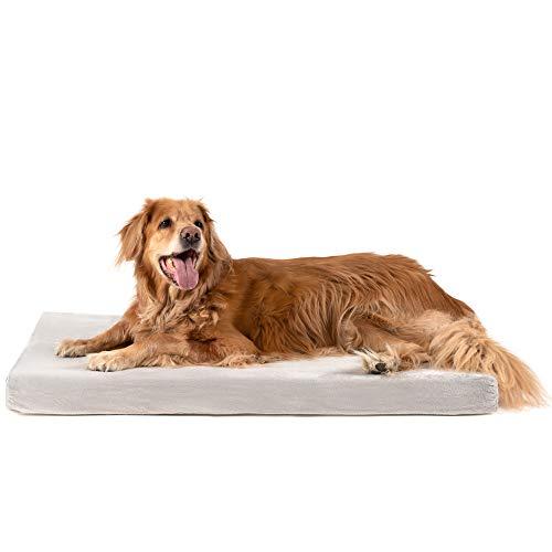 ZENAPOKI Dog Bed - L - Orthopädisches Kissen für Hunde, gut die Gelenke - Hundebett flauschig aus...