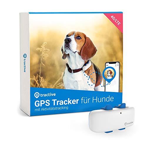 Tractive GPS DOG 4 - Tractive GPS Tracker für Hunde mit Aktivitätstracking und unbegrenzter Reichweite,...