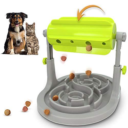 Alsanda Interaktives Hundespielzeug Katzenspielzeug Mit Anti Schling Hundenapf 2in1 für Hund und Katze...
