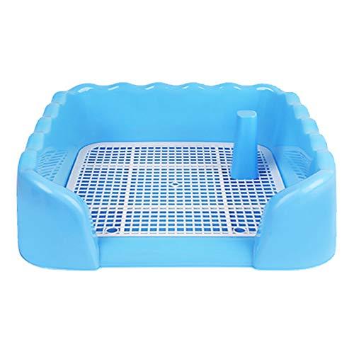WANGPP Dog Potty Tray, die Innentoilette für Haustiere Urinal-Haustier-Toilette für Hunde und Hunde,...