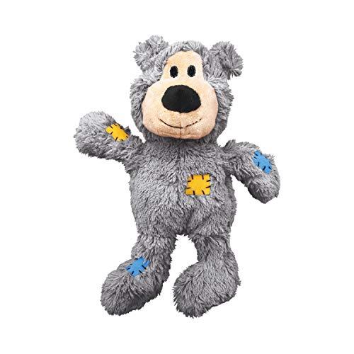 KONG – Wild Knots Bear – Mit geknoteten Seilen und weniger Füllung – Für Kleine/Mittelgroße...