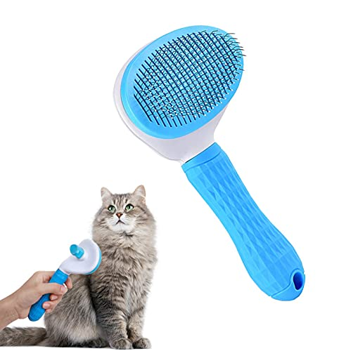 Ncheli Haustier Bürsten,Haustier Hundebürste Katzenbürste Haar Entferner Haustierbürste...