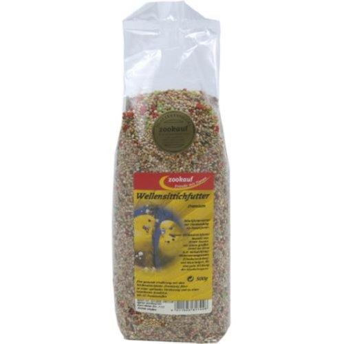 zookauf Vogel Futter Premium für Wellensittich 500 g
