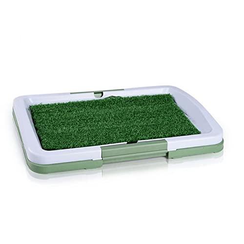 Haustier Rasen Toilettenmatte Kunstrasen Urinal Pad Indoor Welpen Hund Töpfchen Training Tray Grass...