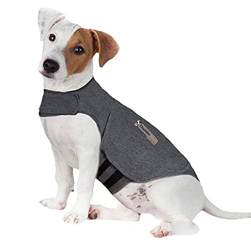 Thundershirt Beruhigungsweste, Hundemantel für ängstliche Hunde, Größe S, grau, 99002