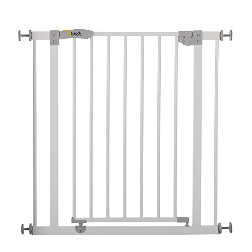 Hauck Türschutzgitter / Treppenschutzgitter für Kinder Open N Stop Safety Gate / ohne Bohren / 75 - 80...