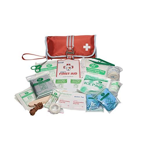 Kurgo Erste Hilfe Set, 50-teiliges Erste Hilfe Set, Erste Hilfe Set für Hund, Erste Hilfe Set Outdoor,...
