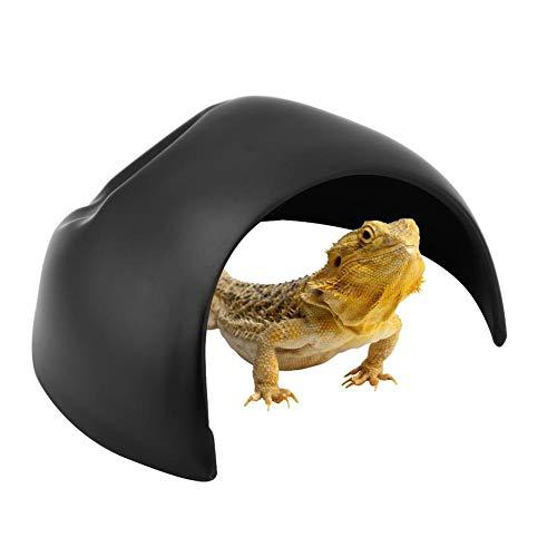 HEEPDD Reptilienhöhle, Kunststoff, Terrarium-Dekoration, Zubehör für Amphibien, Eidechsen, kleine...