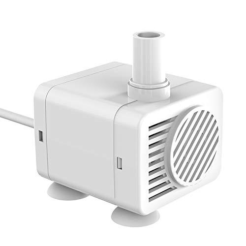 Dasing Mini Wasserpumpe Tauchpumpe Generic Wasser Pumpe mit USB-Kabel für Aquarien, Fische Tank,...
