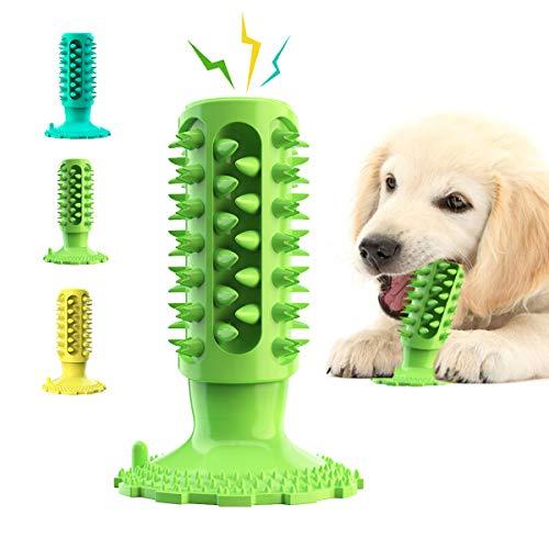 Hundespielzeug Hundezahnbürste, robust, aggressives Kauen, Kauspielzeug für mittelgroße und kleine...