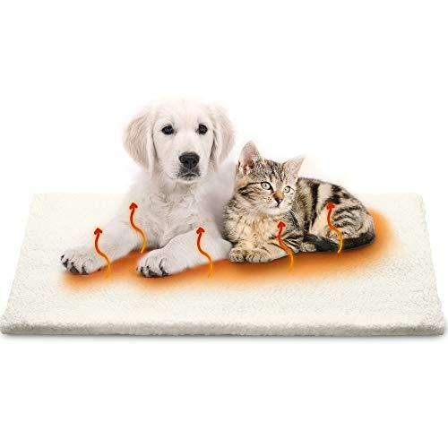 Petgold Heizdecke Katze 60x45cm ohne Strom - Selbstheizende Decke für Katzen & Hunde - Premium Tiere...