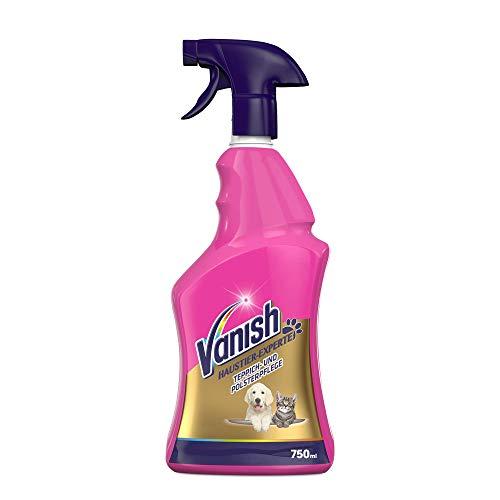 Vanish Haustier-Experte Teppichreiniger – Reinigungsspray zur Teppich- & Polsterpflege – Gegen...