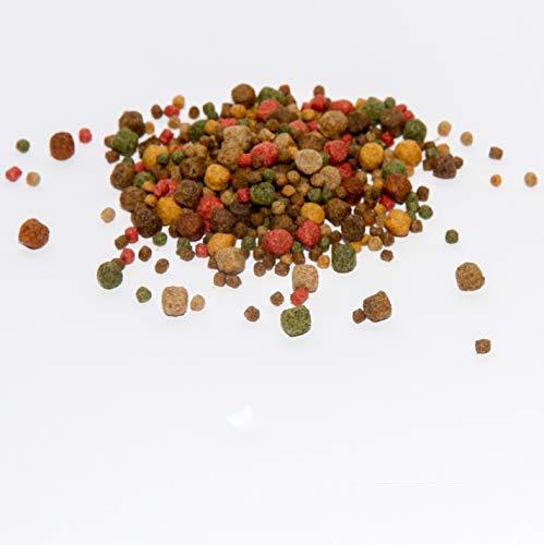 Koi Koifutter * 5-Sorten-Mix * 15Liter von Warnick´s Tierfutterservice (3-6mm)