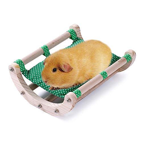JanYoo Meerschweinchen-Bett, Igelhaus-Pad, Kaninchen-Bett, Spielzeug, Käfigzubehör, Stuhl, Shaker,...