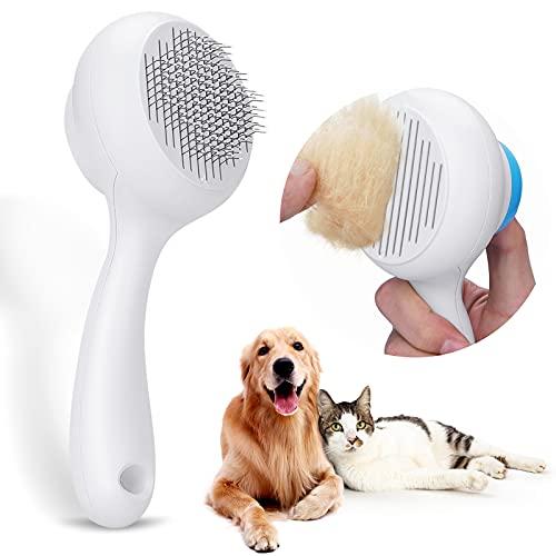 Docatgo Haustier Hundebürste Katzenbürste, Haustier Bürsten, Haar Entferner Haustierbürste für...
