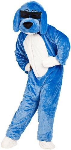 infactory Karnevals Kostüme: Halloween- & Faschings-Kostüm Hund mit Brille (Tier-Karnevalskostüme)