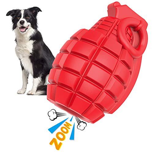 Iokheira Hund Kauspielzeug Spielzeug für Aggressive Kauer, Unzerstörbar Gummi Robust Hundespielzeug...
