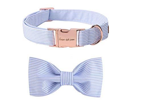Unique style paws Hundehalsband Fliege Halsband Verstellbare Halsbänder oder Hundeleinen für Hunde und...