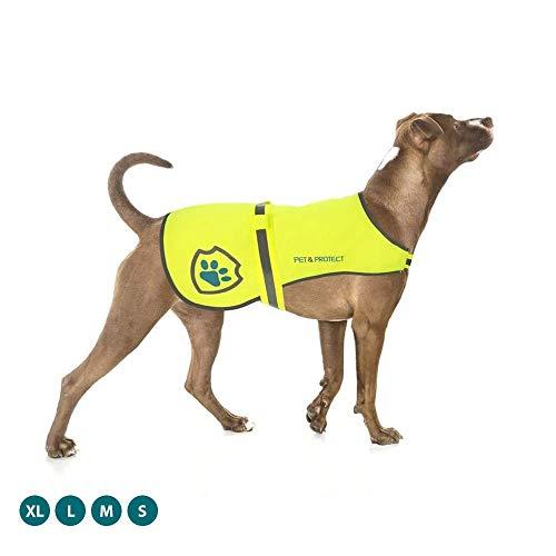 Premium-Hundeweste, reflektierend, hohe Sichtbarkeit, Sicherheitsweste, Laufen, Joggen, Training, 7 kg -...
