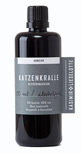 Alkoholfreie Katzenkrallentinktur, 100 ml alkoholfreie Uncaria Tomentosa Tinktur - empfohlen von Anthony...