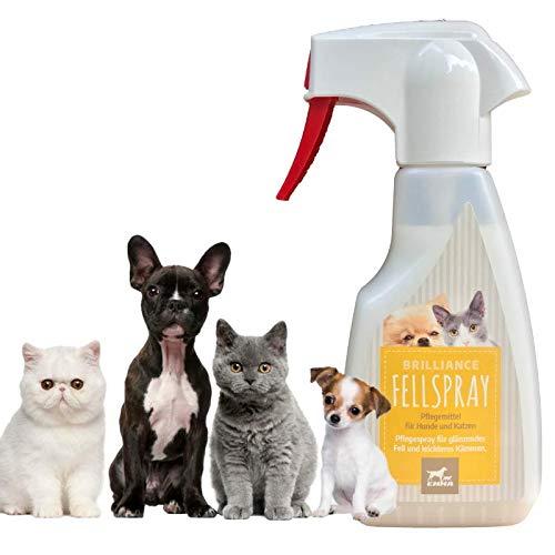 Entfilzungsspray I Kämmspray Hundepflege I Fellpflege Hund Katze Haus-Tiere I Pflegemittel für Langhaar...