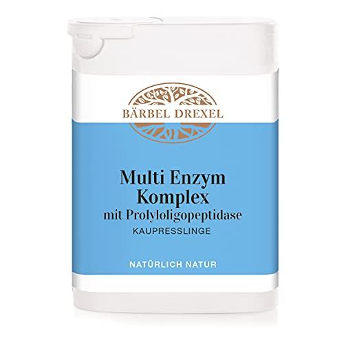 BÄRBEL DREXEL® Multi Enzym Komplex mit Prolyloligopeptidase Kaupresslinge + Calcium (75 Stk) 100%...