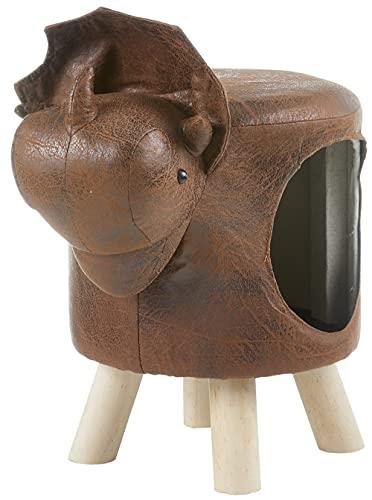 Katzenhöhle Katzenbett Hundehöhle Hundekorb im Dinosaurier Design - ideal für Kinderzimmer -...