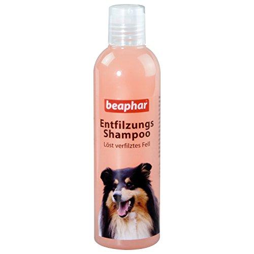 Beaphar Entfilzungs-Shampoo | Hundefell entfilzen | pH neutral | Fellpflege für langhaarige Hunde |...