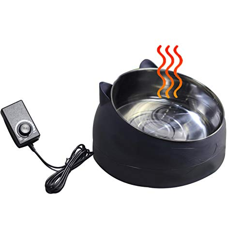 didatecar Beheizter Wassernapf Für Hunde, Heat Pet Bowl Beheizter Wassernapf Temperaturregulierbarer...