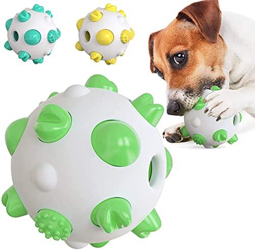 Coldiroch Hund Kauspielzeug Hundespielzeug Kugelhund Molar Spielzeug Anti-Biss Hund Zahnbürste Hund...