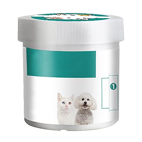 N/S Pflegetücher Augen-Reinigungspads für Hunde & Katzen, Hypoallergene Feuchttücher,...