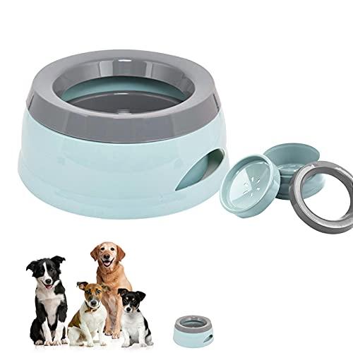 Wassernapf für Hunde Unterwegs, 750ml auslaufsicherer wassernapf für Haustiere, Wassernapf Hund...
