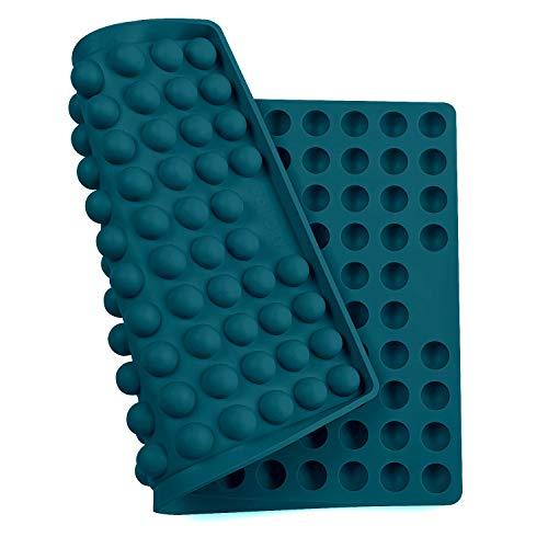 Collory Silikon Backmatte | 2cm Halbkugel Backform für Hundekekse Hundeleckerlies | Hitzebeständig...